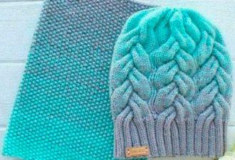 Интересные варианты для теплых шапочек