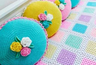 Подушечки для детской или девичьей спаленки