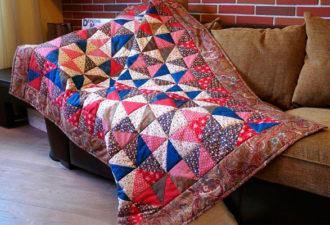 Лоскутные одеяла: удивительное творческое многообразие