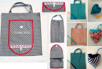 Шьем эко-сумки. Складные сумки-шопперы своими руками!