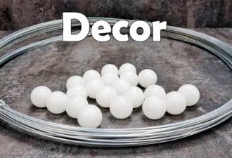 Шикарный декор для дома из обычной проволоки и шариков