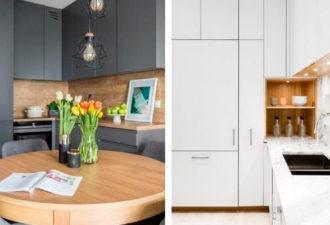 Удобная и стильная угловая кухня — 23 современных решения