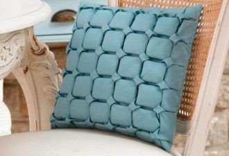 Декоративные буфы на подушках: идеи и схемы