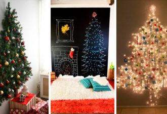 30 идей альтернативных новогодних елочек, которые вам понравятся