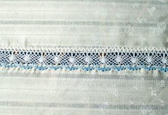Как вшить кружево в ткань: простой мастер-класс