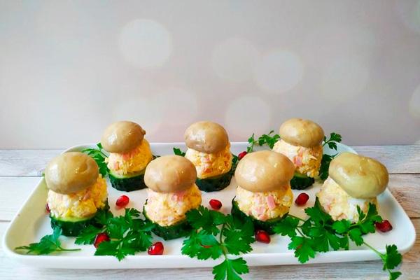 Рецепт праздничной закуски, который проверен временем!