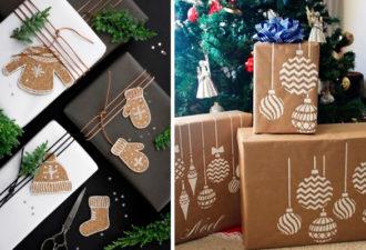 Вдохновляющие идеи упаковки новогодних подарков