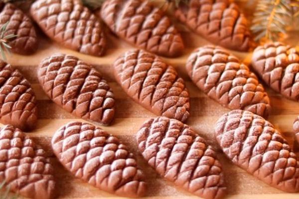 Печенье «Шишки» выглядит как настоящие шишечки, а делается проще простого