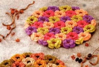Цветочные коврики