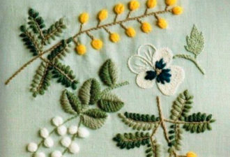 Идеи для отделки: вышивка