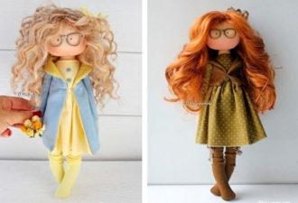 Куклы Тильды для украшения интерьера