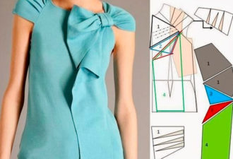 Необычное моделирование блузок