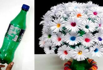 Крутая идея переработки пластиковых бутылокКрутая идея переработки пластиковых бутылок