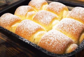 Японские булочки Хоккайдо. Невероятно мягкие, нежные, буквально тают во рту