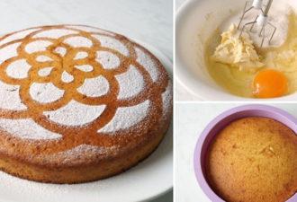 Мягкий и нежный пирог: всегда хорошо поднимается