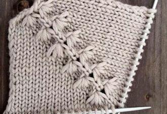 Вязание красивого реглана спицами