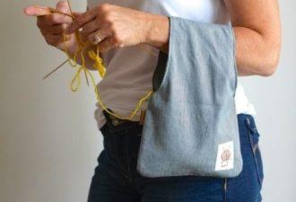 Подборка сумочек для рукоделия которые вы можете сделать своими руками