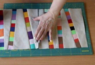Идея утилизации остатков ткани