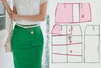 Моделирование оригинальных юбок