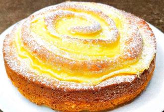 Яблочный пирог, как торт! Вкуснее любимой шарлотки