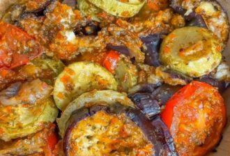 Шикарная закуска из овощей: вкусно как в горячем так и в холодном виде, идеально на поджаренный тост