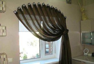 Топ-10 креативных способов как повесить шторы без карниза