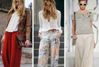 Моделирование летних брюк