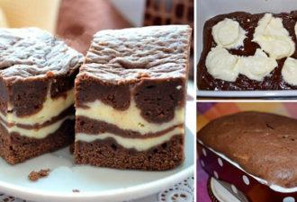 Шоколадно-творожный пирог «Мраморный»: нежный и рассыпчатый