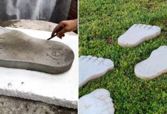 Фигурная плитка по цене цемента: оригинальное оформление садовых дорожек