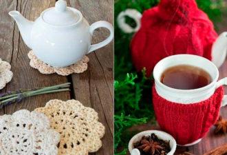 Крутые вязаные идеи для уютного чаепития