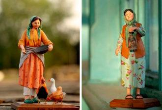 Живые скульптуры: восхитительные идеи для творчества