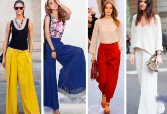 Моделирование женских брюк