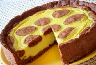 Творожный пирог «Жираф»