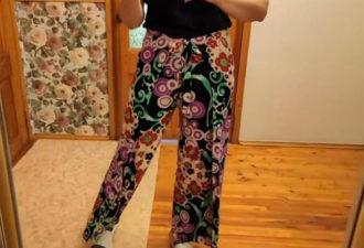 Шьём свободные брюки на любую фигуру