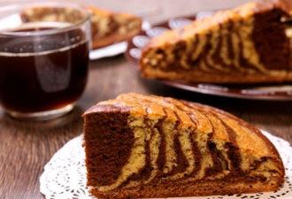 Необыкновенный тортик «Зебра»