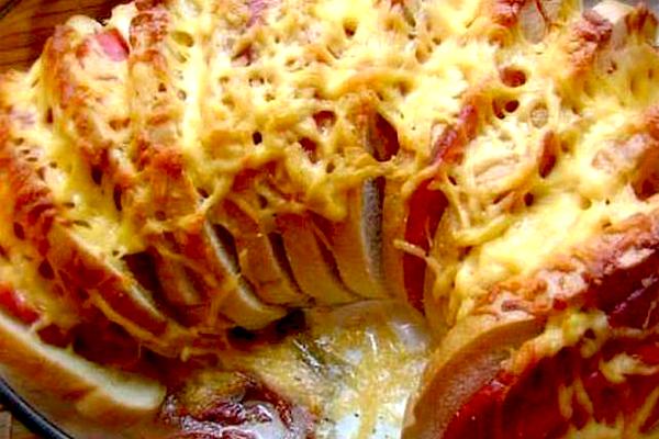 Простой и вкусный рецепт горячих бутербродов