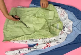 Мастерица не стала выкидывать старые рубашки и не пожалела об этом
