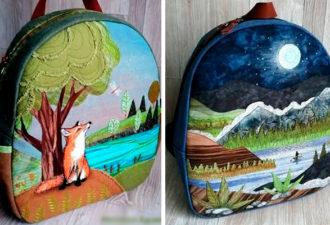 Идеи восхитительных рюкзаков своими руками