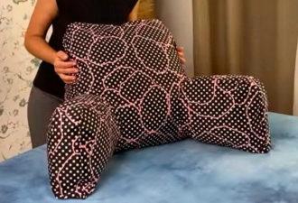Подушка, за которую ваша усталая спина скажет спасибо