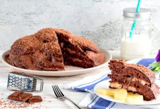 Шоколадный торт «Черепаха»