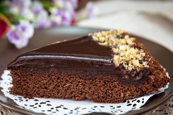 Торт «Джандуйя» с шоколадным ганашем